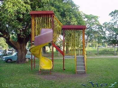 Children's play equipment, Lion's Den Hotel