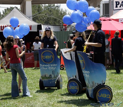 Channel Ten Segways